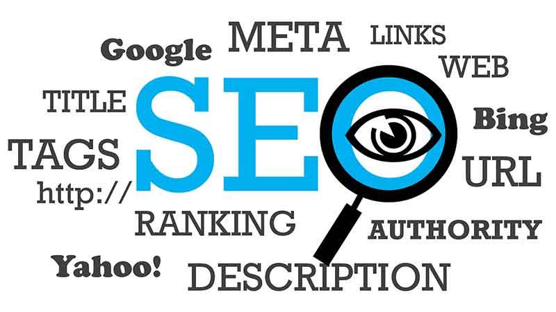 Søkemotoroptimalisering av en nettside (SEO optimalisering)